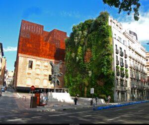 Caixa Forum Museum vertical garden
