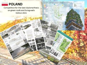 Competition for the best diploma thesis on green roofs and living walls