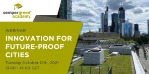 Webinar Innovation for future-proof cities